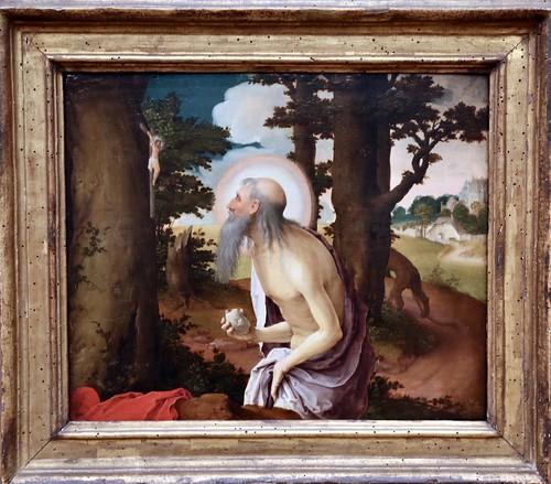 Lucas van Leyden. Penitent St Jerome (c. 1520)