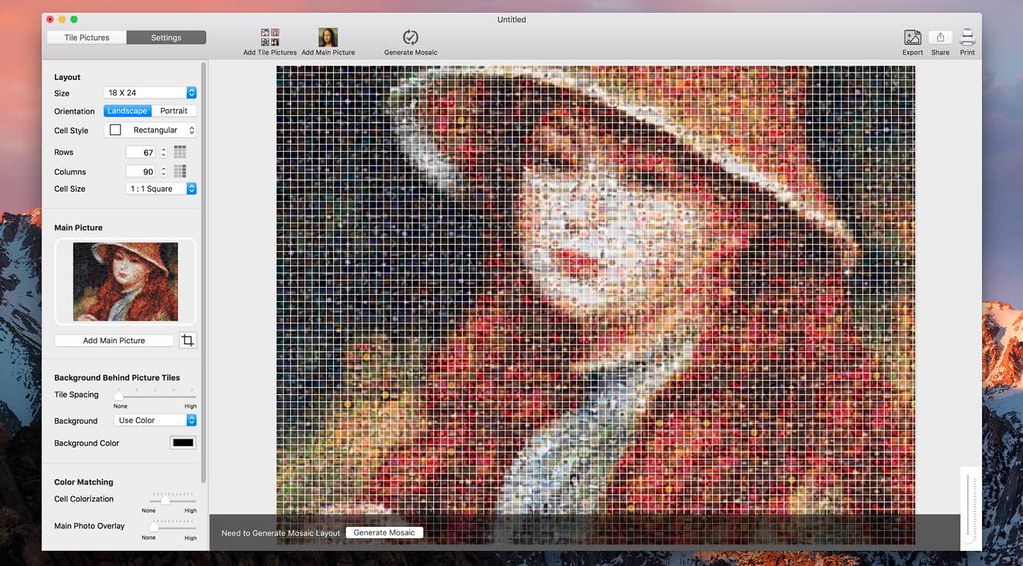 TurboMosaic 3 0 15 – Best Photo Mosaic Maker for Mac | macOS | NMac Ked