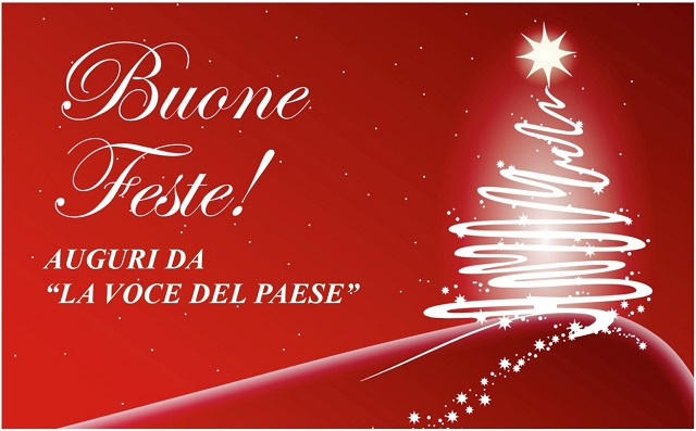 Noicattaro. Auguri festività natalizie intero