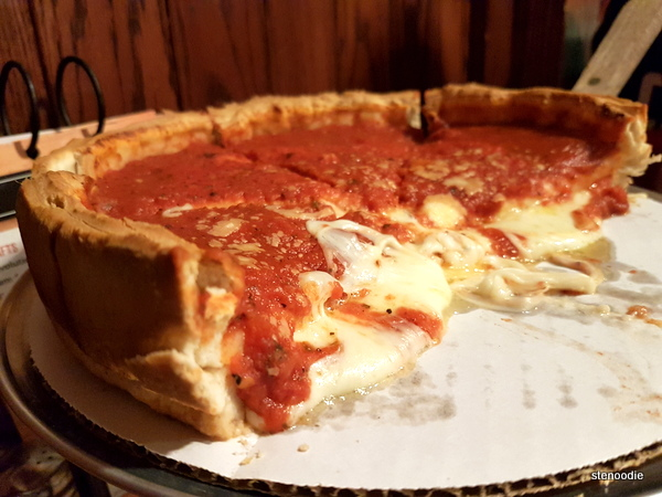 Cheese Deep Dish Pizza
