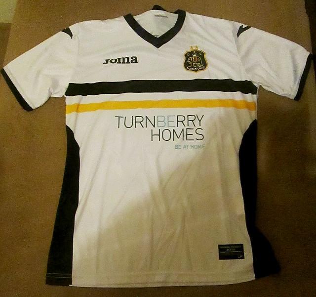 Dumbarton FC Home Shirt 2016-17