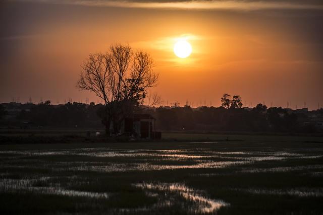 sunset, Nikon D800, AF Nikkor 70-210mm f/4-5.6D