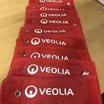 Golfhanddukar till Veolia