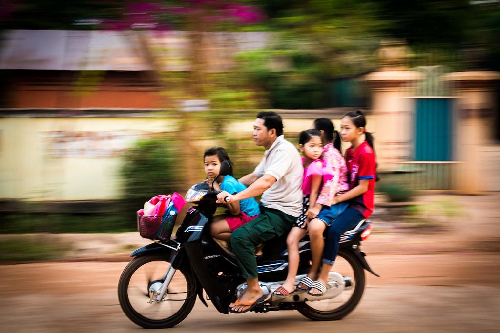 All aboard! Siem Reap, Cambodia