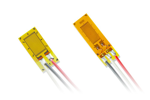 March 14, 2017 - 4:21pm - A key benefit in the specification of pre-cabled gages for stress analysis is their efficiency during installation. With this new option, Micro-Measurements has extended this benefit into higher application temperatures. New Option SP35 includes ten feet (three meters) of 30-AWG, twisted, etched Teflon leadwires (330-FTE). The etching ensures that any protective coatings applied over the installation will bond and seal to the cable. Gage leadwires are pre-attached via solder to the CEA- and WK-series strain gages, allowing them to support specific requirements to +350°F (+177°C) and +400°F (+204°C), respectively. Their three-wire quarter bridge configuration cancels any potential cable thermal output which may occur in response to temperature changes. Option SP35 is ideal for the support of higher temperature stress analyses of automotive and aerospace components, or of any other structural material. It is particularly useful for higher temperature composite materials testing, eliminating the need for soldering on the test article, and thus the possibility of heat damage to sensitive surfaces. In addition, Option SP35 has no impact on strain gage resistance tolerance or strain range specifications, allowing for continued seamless integration into the application environment. At the same time, it offers a viable leadwire solution with simplified installation requirements. With these combined features, Option SP35 now allows a customer to specify both Micro-Measurements CEA- and WK-series strain gages into an expanded number of higher temperature applications, particularly those where the limitations of traditional pre-gaged vinyl insulated cabling had previously limited their use. For more information on Option SP35, or other available stress and strain sensing technologies from Micro-Measurements, visit www.micro-measurements.com.