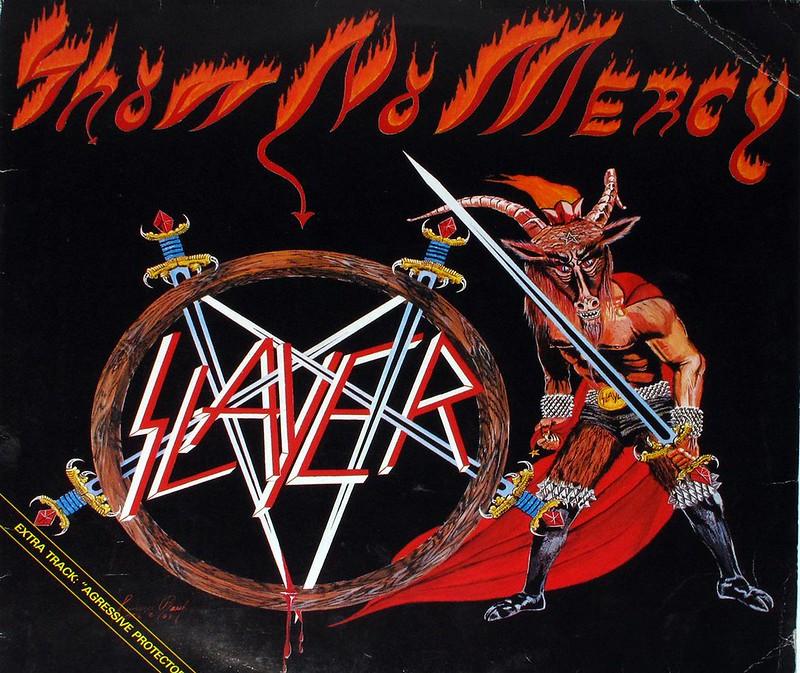 SLAYER Show No Mercy Bonus Track Agressive Protection / Aggresive Perfector