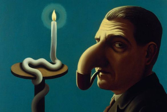 ReneMagrittePhilosopher'sLamp1936