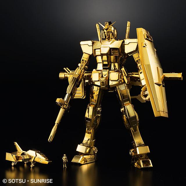超刺眼的金色景品第三彈!MG 1/100《機動戰士鋼彈》RX-78-2 鋼彈 Ver.3.0 [金色鍍膜版]【鋼彈東京基地會員限定景品】