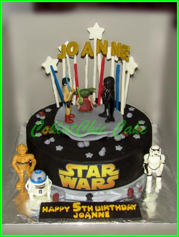 Cake StarWars JOANNE 22cm