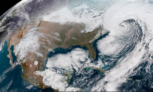 Bombogenesis, January 2018
