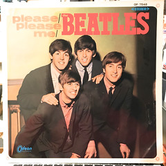 THE BEATLES:PLEASE PLEASE ME(JACKET A)
