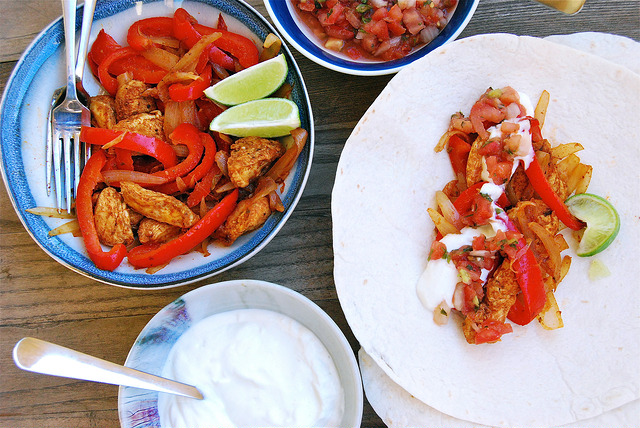 Homemade Chicken Fajitas #fajitas #mexican #chicken #homemade #howto