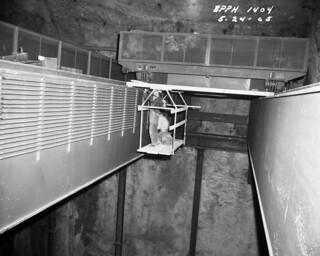 Boundary Dam construction, 1965