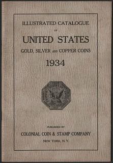 CCS Catalog 1934 - cover