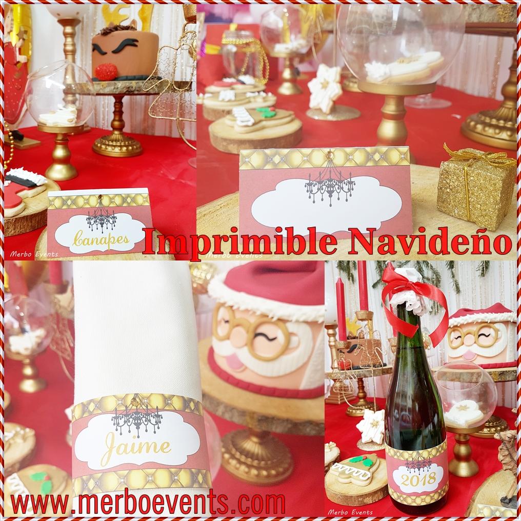 Imprimible navideño MErbo Events