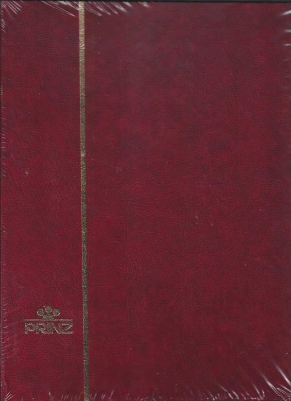 Album na známky PRINZ - A4 32 strán, červený