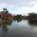 The Wye in Winter, Hereford 20 December 2017