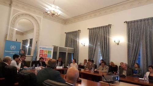 Cтуденты посетили Дом ООН в Москве