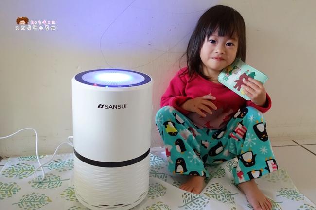 來自日本【SANSUI山水】觸控式多層過濾空氣清淨機~銀離子HEPA活性碳濾網,4道過濾清淨,居家環境擁有清新空氣非難事