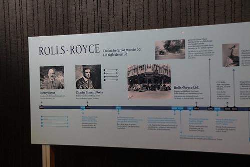 Cronograma (1/5) de RollsRoyce  en @euskalduna_eus