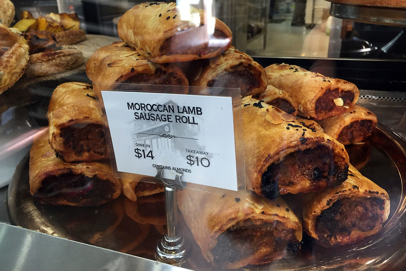 Moroccan lamb sausage roll, Daci & Daci