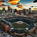 Coors Field and Denver Skyline by gacrichards
