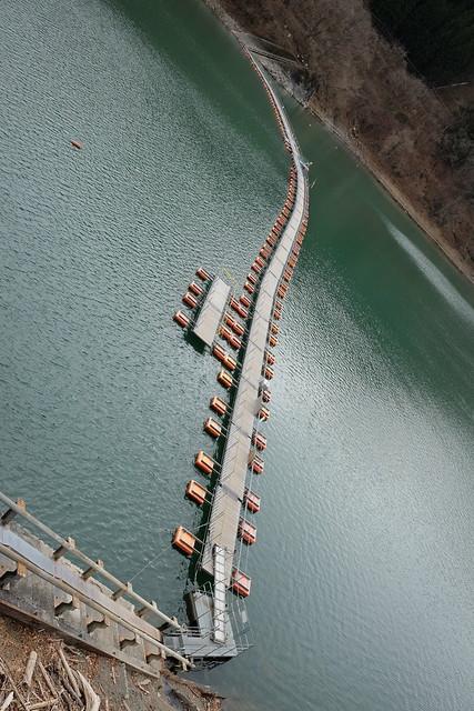 Lake Okutama Ogouchi dam reservoir 14