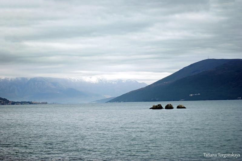 Вид в глубину залива