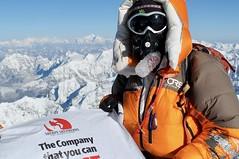Expedition Mount Everest. Gipfel, 8848 m. Foto: Archiv Härter.
