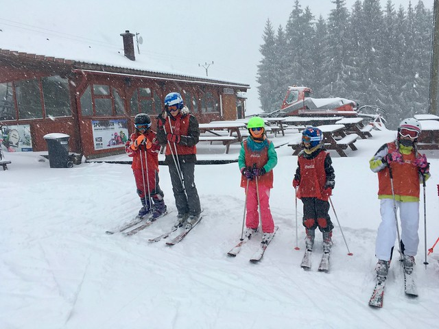 Lyžařský kurz 2018 2. den