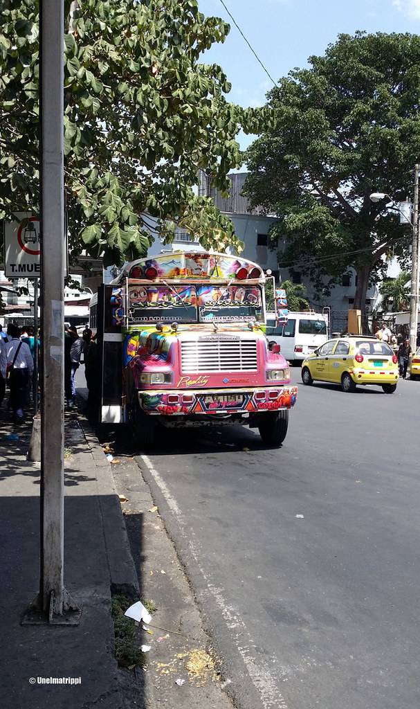 Koristeellinen bussi, Panama City