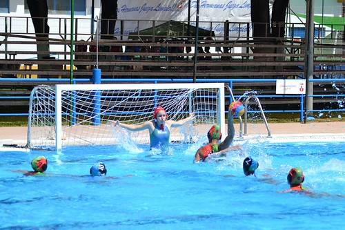 Campeonato de Andalucía juvenil de waterpolo en Los Montecillos