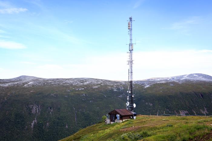 Tromsø Tromssa Fjellheisen Norja Norway Norge pohjois-Norja Kvaløya Tromsøya näköala tunturi radiomasto