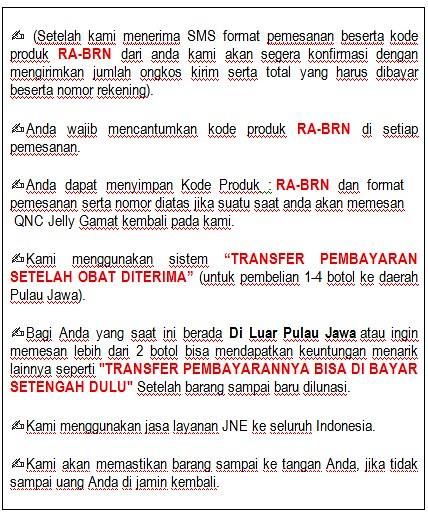Penjual QNC Jelly Gamat Di Banjarnegara
