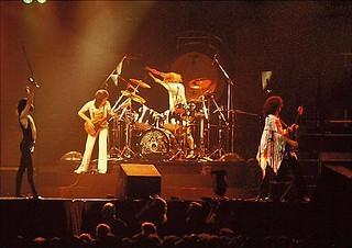 Queen live @ Detroit - 1977