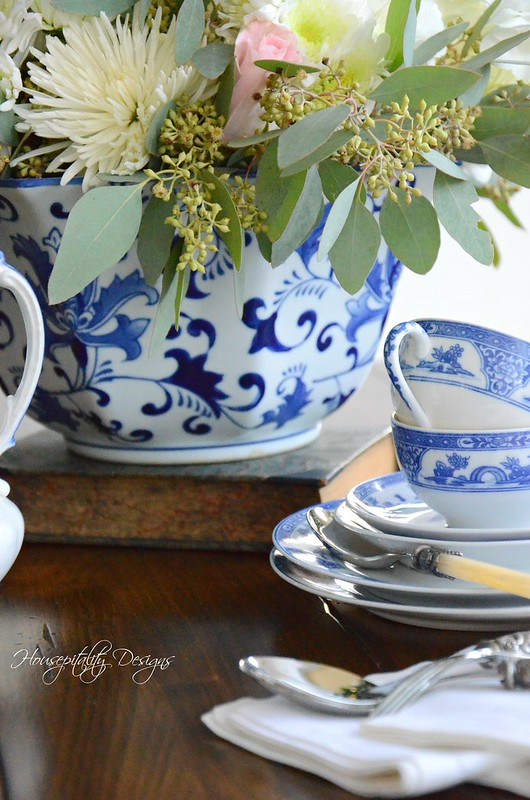 Blue and White Vignette-Housepitality Designs-5