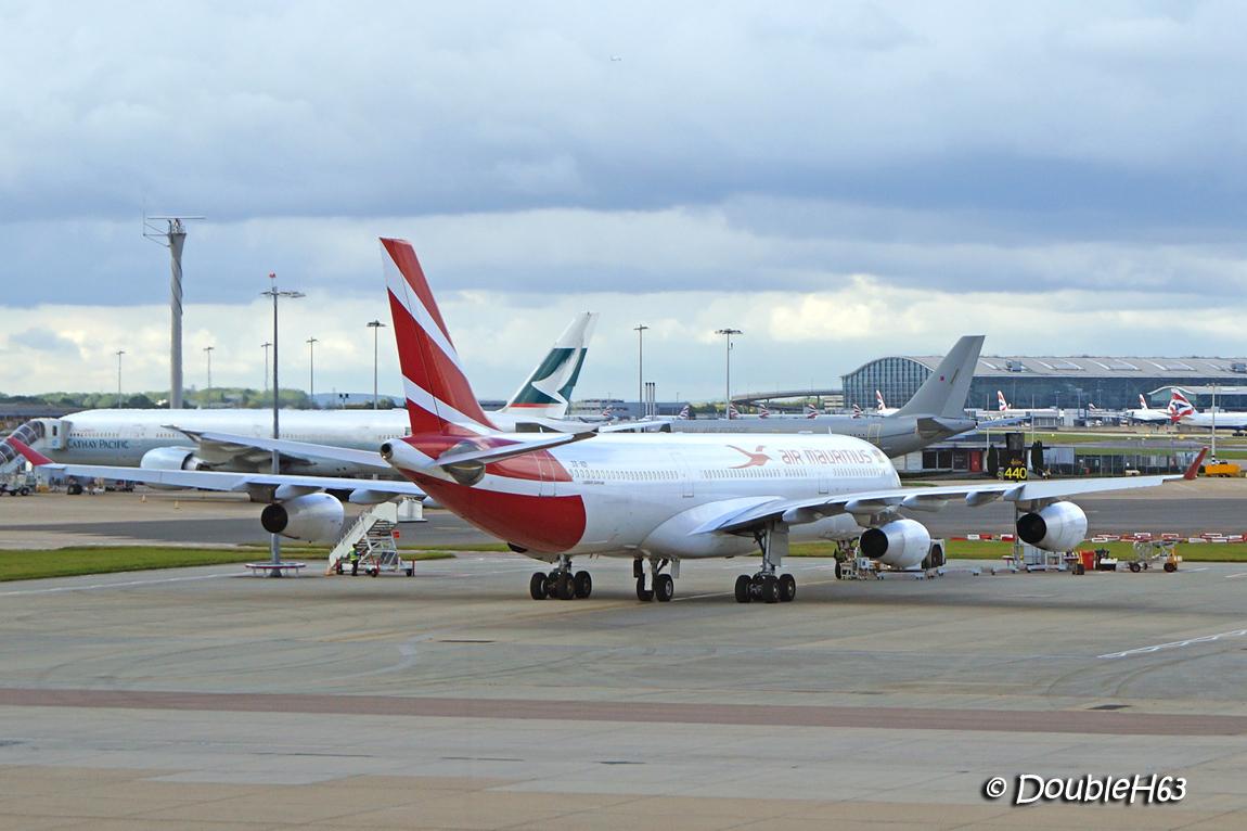 3B-NBI A343 Mauritius LHR
