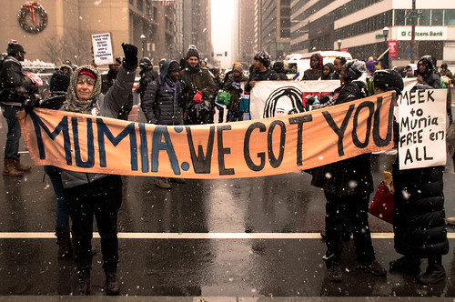 Dec 9 Mumia March and Forum