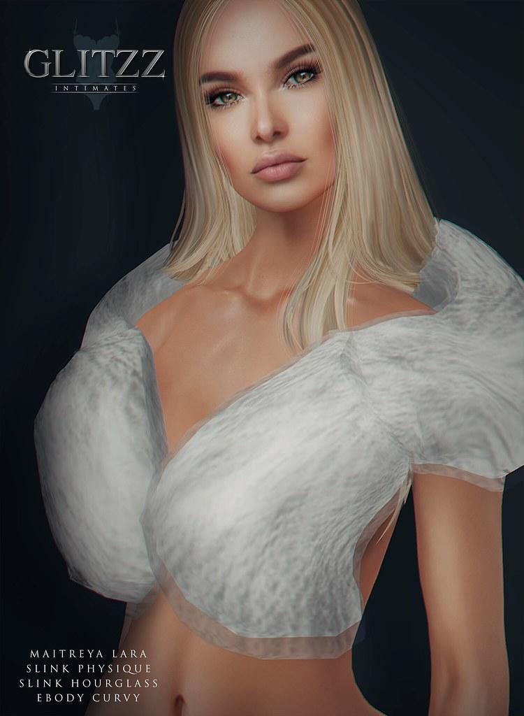 [Glitzz] Fur Stole Gift AD
