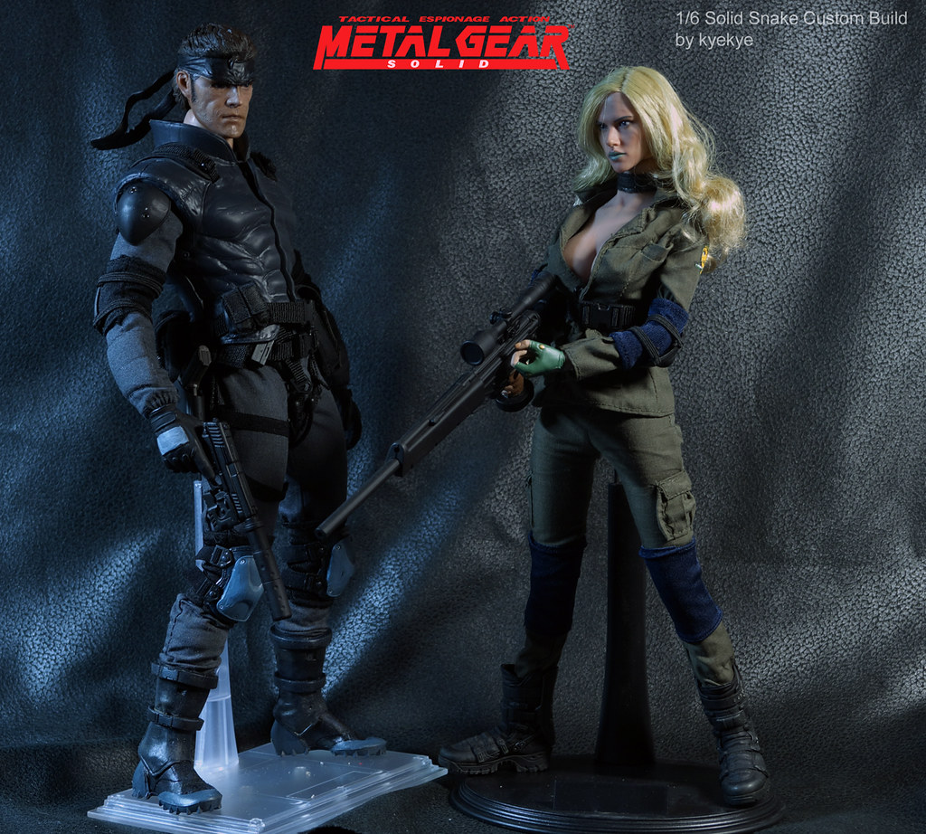 """Mr Toy 1//6 Scale Metal Gear Solid V  /""""Quite/"""" Accessory Set"""
