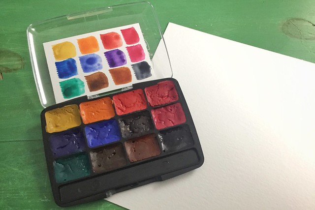 DIY Watercolor Kits