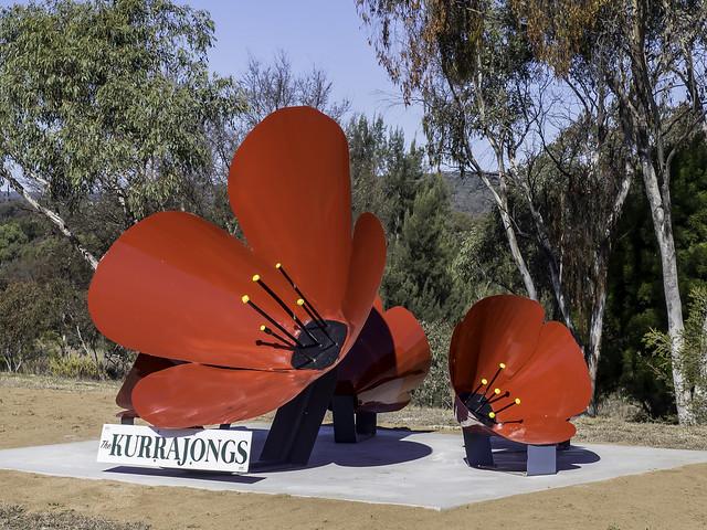 The Kurrajongs WWI Memorial - Read Below