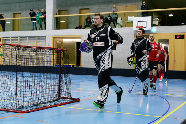 Nesslau Sharks vs. Bülach Floorball (16.12.2017)