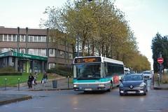 Irisbus Agora S n°127  -  Rennes, STAR