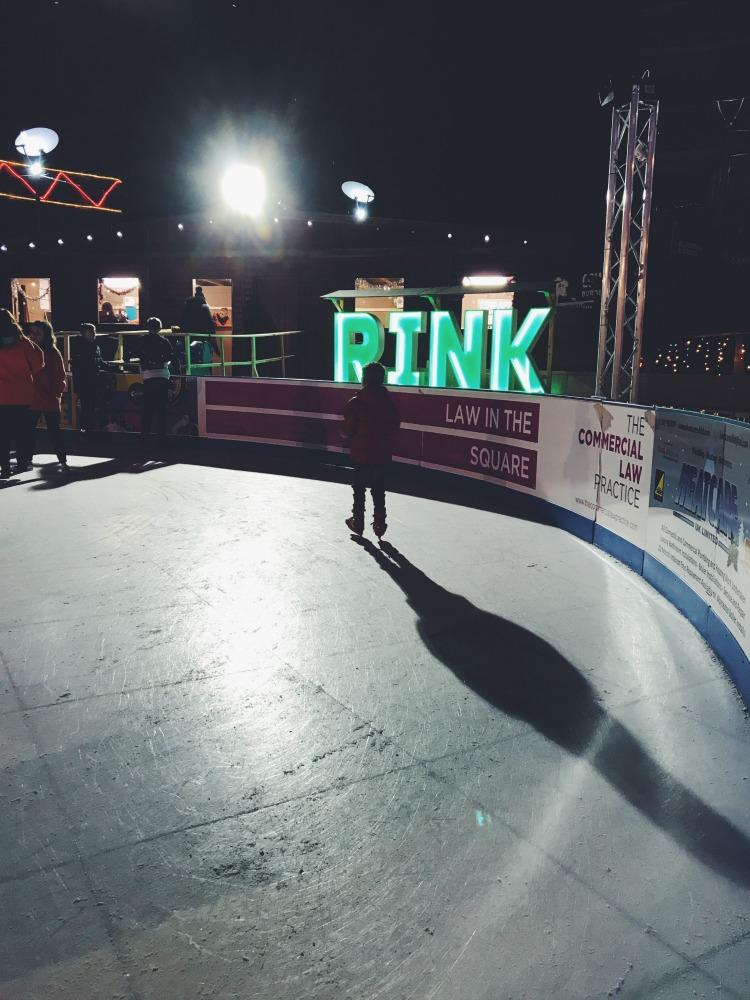 Rink Ice skating