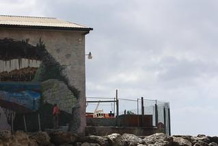 bados landscape mural