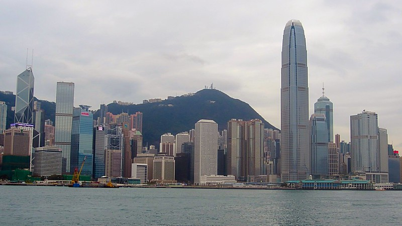 Wan Chai winter Hong Kong