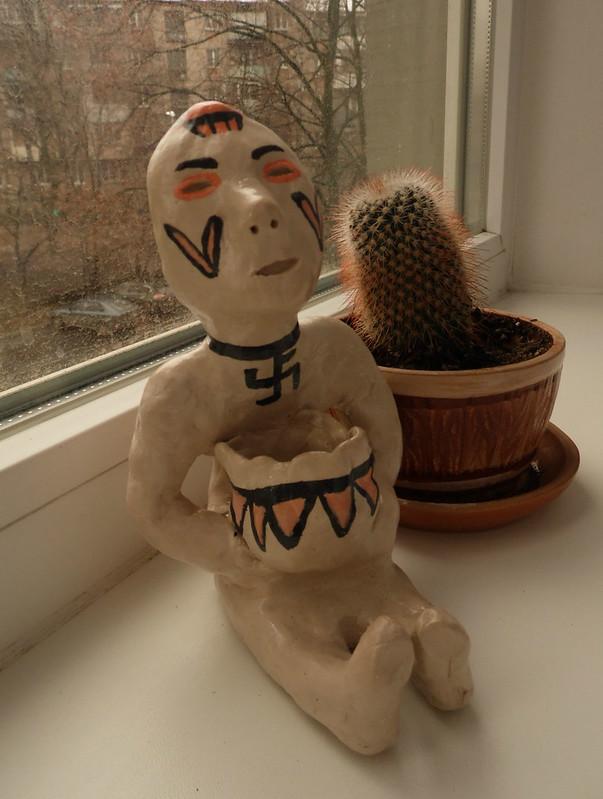 Тоненили - бог дождя индейцев навахо