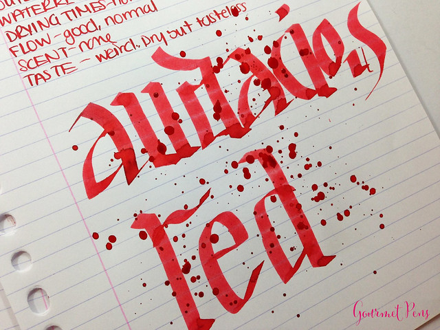 Ink Shot Review Waterman Audacious Red @KnightsWritingC 9