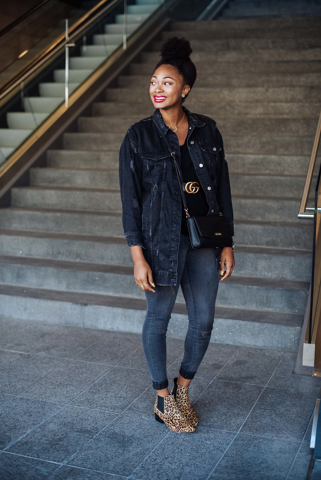 how to style a gucci belt, candace hampton